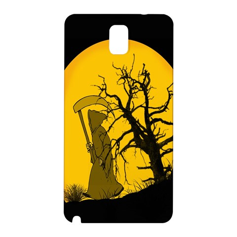 Death Haloween Background Card Samsung Galaxy Note 3 N9005 Hardshell Back Case