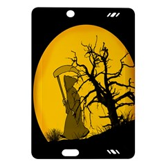 Death Haloween Background Card Amazon Kindle Fire HD (2013) Hardshell Case