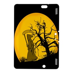 Death Haloween Background Card Kindle Fire HDX 8.9  Hardshell Case