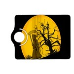 Death Haloween Background Card Kindle Fire HD (2013) Flip 360 Case Front