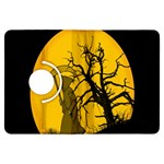 Death Haloween Background Card Kindle Fire HDX Flip 360 Case Front