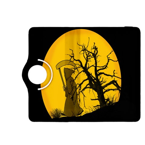 Death Haloween Background Card Kindle Fire HDX 8.9  Flip 360 Case
