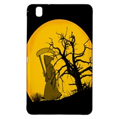 Death Haloween Background Card Samsung Galaxy Tab Pro 8.4 Hardshell Case