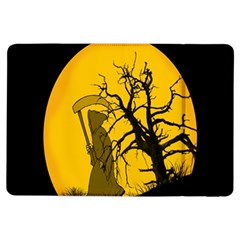 Death Haloween Background Card iPad Air Flip