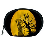Death Haloween Background Card Accessory Pouches (Medium)  Front