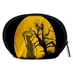 Death Haloween Background Card Accessory Pouches (Medium)  Back