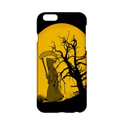 Death Haloween Background Card Apple iPhone 6/6S Hardshell Case