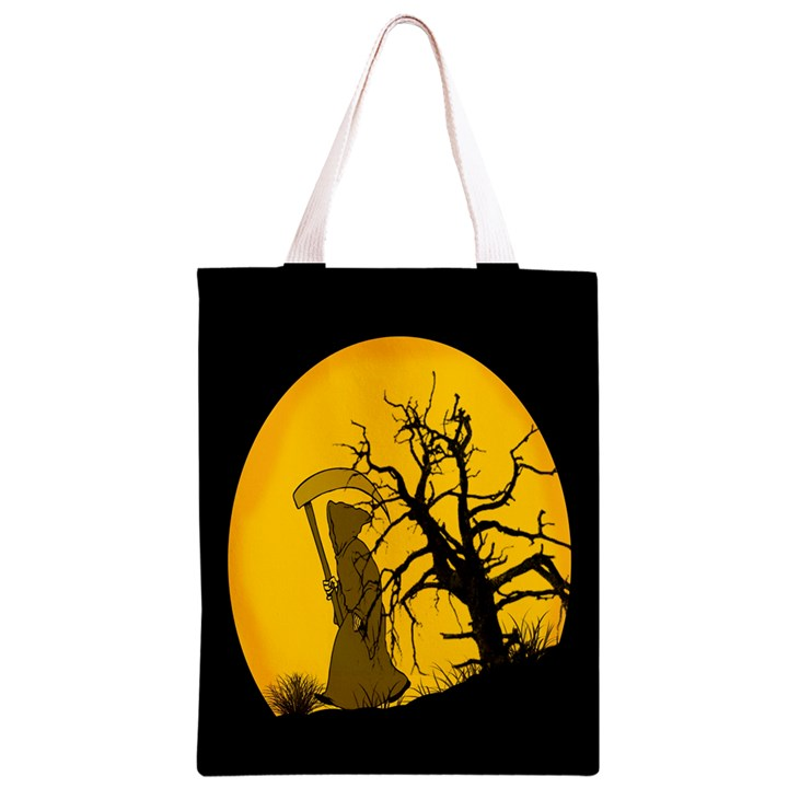 Death Haloween Background Card Classic Light Tote Bag