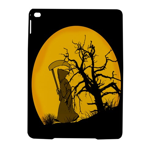 Death Haloween Background Card iPad Air 2 Hardshell Cases