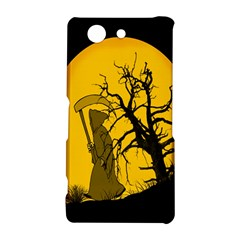 Death Haloween Background Card Sony Xperia Z3 Compact