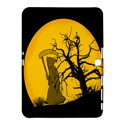 Death Haloween Background Card Samsung Galaxy Tab 4 (10.1 ) Hardshell Case