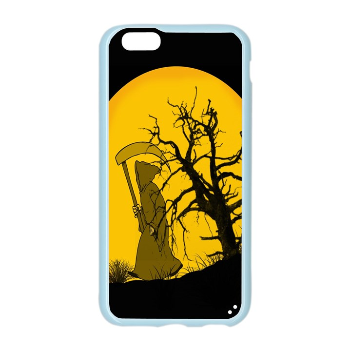 Death Haloween Background Card Apple Seamless iPhone 6/6S Case (Color)