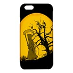 Death Haloween Background Card iPhone 6/6S TPU Case Front