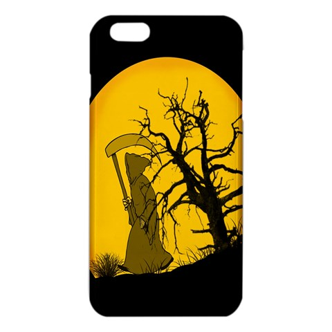 Death Haloween Background Card iPhone 6 Plus/6S Plus TPU Case
