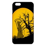 Death Haloween Background Card iPhone 6 Plus/6S Plus TPU Case Front