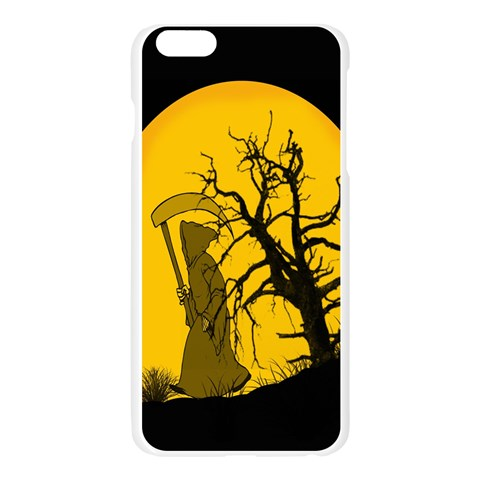 Death Haloween Background Card Apple Seamless iPhone 6 Plus/6S Plus Case (Transparent)