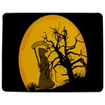 Death Haloween Background Card Jigsaw Puzzle Photo Stand (Rectangular) Front
