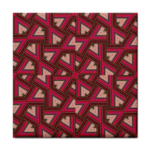 Digital Raspberry Pink Colorful  Tile Coasters