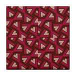 Digital Raspberry Pink Colorful  Tile Coasters Front