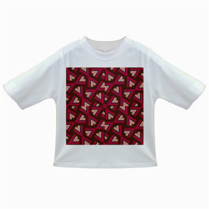 Digital Raspberry Pink Colorful  Infant/Toddler T-Shirts