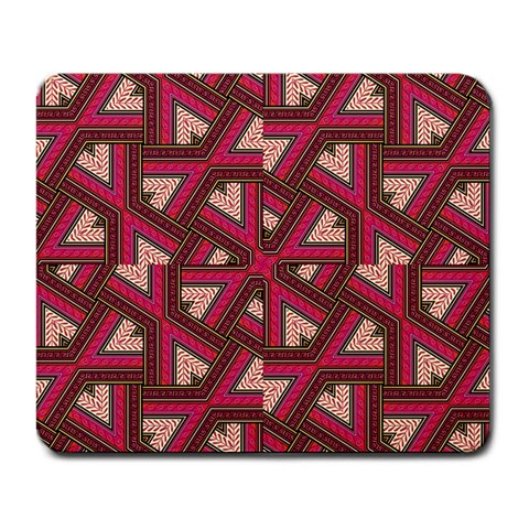 Digital Raspberry Pink Colorful  Large Mousepads