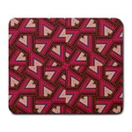 Digital Raspberry Pink Colorful  Large Mousepads Front