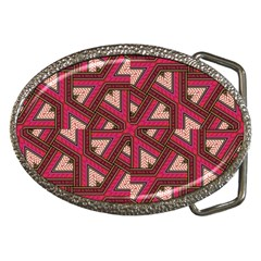 Digital Raspberry Pink Colorful  Belt Buckles