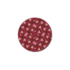 Digital Raspberry Pink Colorful  Golf Ball Marker (10 pack)
