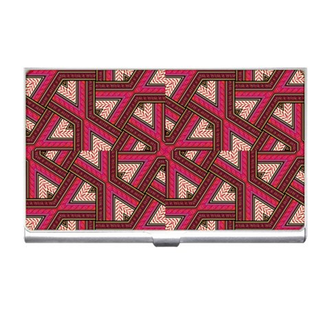 Digital Raspberry Pink Colorful  Business Card Holders