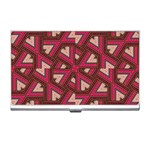 Digital Raspberry Pink Colorful  Business Card Holders Front
