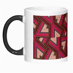 Digital Raspberry Pink Colorful  Morph Mugs