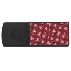 Digital Raspberry Pink Colorful  USB Flash Drive Rectangular (4 GB)