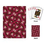 Digital Raspberry Pink Colorful  Playing Card Back