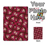 Digital Raspberry Pink Colorful  Playing Cards 54 Designs  Back