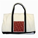 Digital Raspberry Pink Colorful  Two Tone Tote Bag Front
