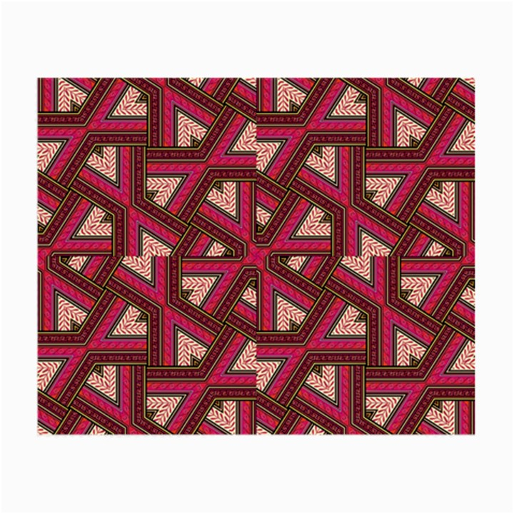 Digital Raspberry Pink Colorful  Small Glasses Cloth (2-Side)