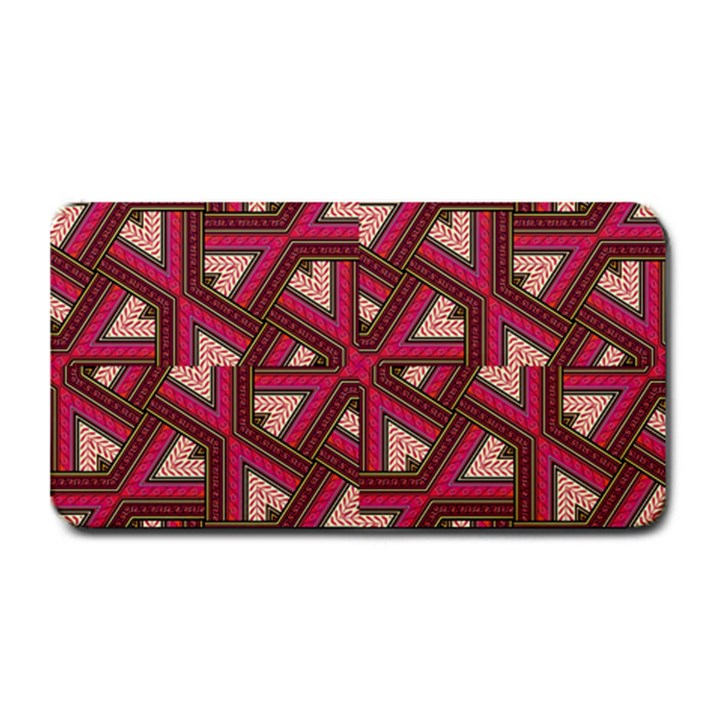 Digital Raspberry Pink Colorful  Medium Bar Mats