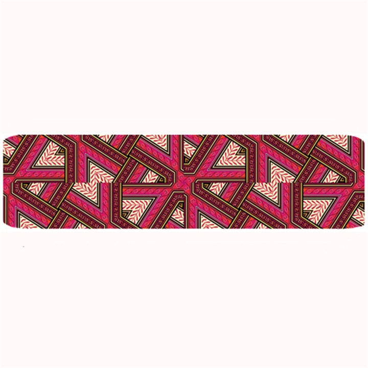Digital Raspberry Pink Colorful  Large Bar Mats