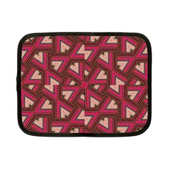 Digital Raspberry Pink Colorful  Netbook Case (Small)