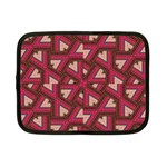 Digital Raspberry Pink Colorful  Netbook Case (Small)  Front