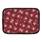 Digital Raspberry Pink Colorful  Netbook Case (Medium)  Front
