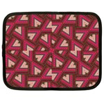 Digital Raspberry Pink Colorful  Netbook Case (Large) Front