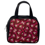 Digital Raspberry Pink Colorful  Classic Handbags (One Side) Front