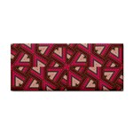 Digital Raspberry Pink Colorful  Hand Towel Front