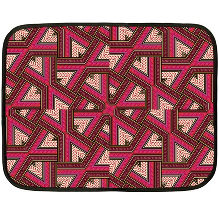 Digital Raspberry Pink Colorful  Fleece Blanket (Mini)