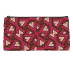 Digital Raspberry Pink Colorful  Pencil Cases Front