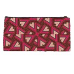 Digital Raspberry Pink Colorful  Pencil Cases Back