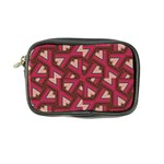 Digital Raspberry Pink Colorful  Coin Purse Front