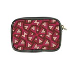 Digital Raspberry Pink Colorful  Coin Purse Back