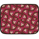 Digital Raspberry Pink Colorful  Double Sided Fleece Blanket (Mini)  35 x27 Blanket Front
